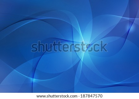 abstract blue swirl line background