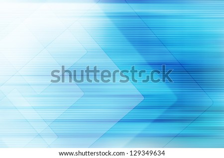 Abstract blue technology background. - stock photo