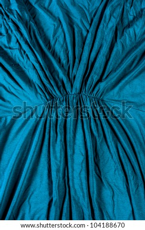 Abstract blue texture closeup - stock photo