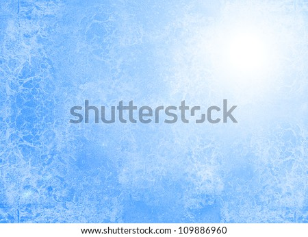 Abstract blue texture (for background) - stock photo