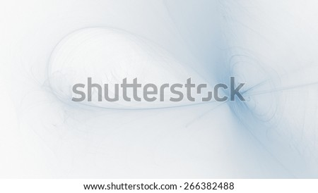 Abstract Blue White Background with Lines Curves Lights - stock photo