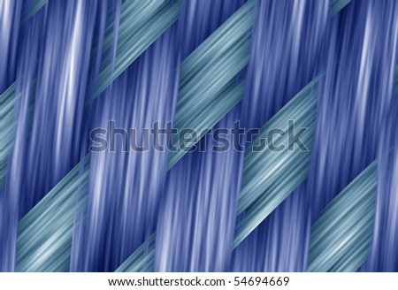 abstract blue woven fabric jeans macro style exture - stock photo