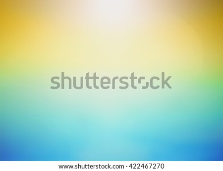 abstract blue yellow green with smooth gradient colors and multicolor background texture design for brochure or background for web template. 2016 2017 Flag Luxury Wall Card Cover Paper Decor Paint - stock photo