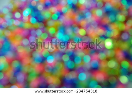 Abstract  bluer bokeh for background