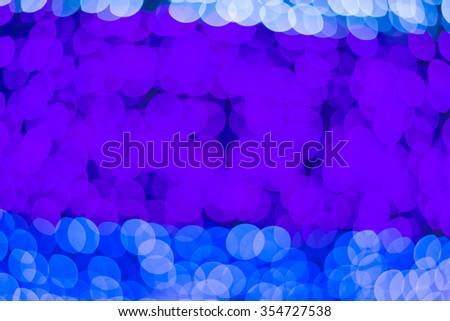 Abstract blur bokeh background on bright colors style.