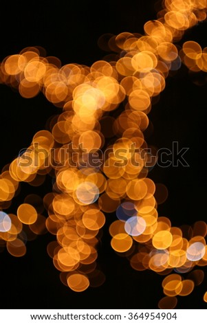 abstract blur bokeh defocused lights background - stock photo