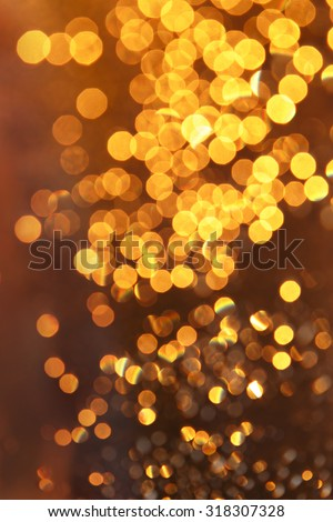 Abstract blur colorful background with shiny drops