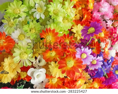 Abstract blur flower floral background