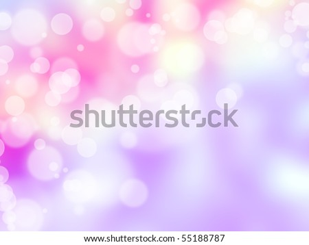 abstract blur lights - stock photo