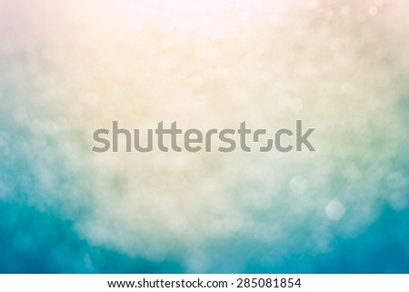 Abstract Blur of blurred lights with bokeh effect Backgrounds design - stock photo