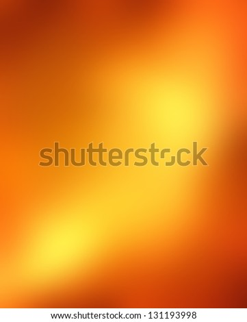 abstract blurred background, smooth gradient texture color, shiny bright background banner header or sidebar graphic art image, elegant rich surface orange gold background yellow wave splash design - stock photo