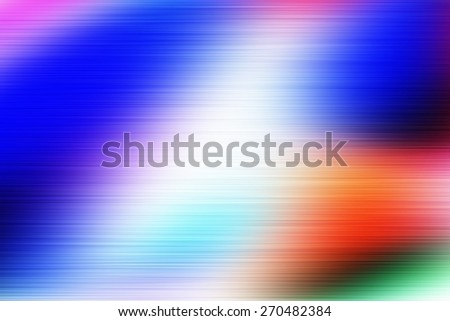 abstract blurred background, smooth gradient texture color with horizontal speed motion lines - stock photo