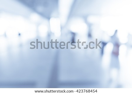 abstract blurred background transport - stock photo