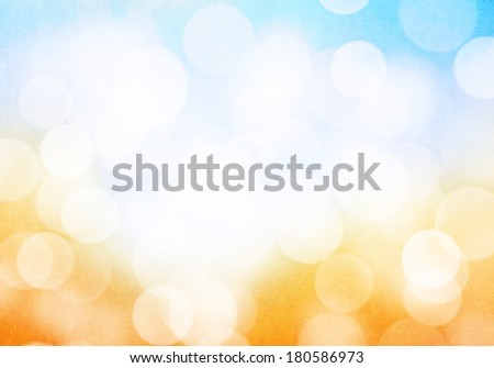 Abstract blurred bokeh colorful grunge background
