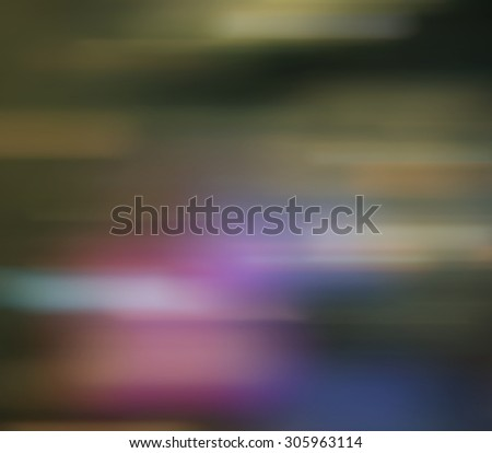 Abstract blurred defocused city lights bokeh in evening time  - stock photo