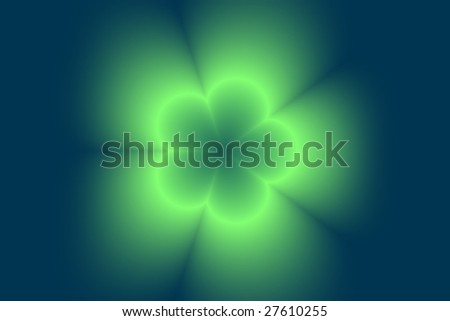 Abstract blurred digital flower background