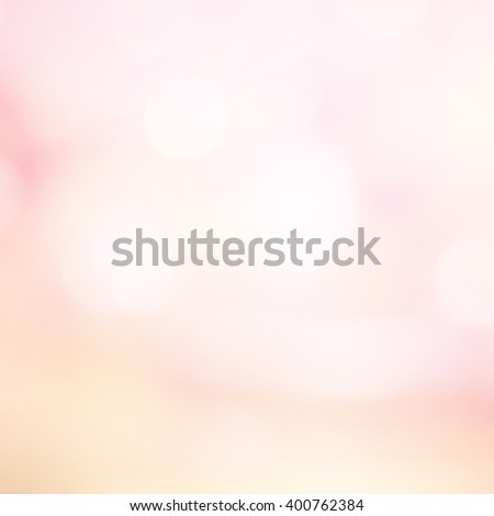 abstract blurred elegant soft brightening pink background:blur gold rose colorful backdrop with bokeh lucent light:spotlight shiny wallpaper with lens flare light effect filter:vivid tone:square image - stock photo
