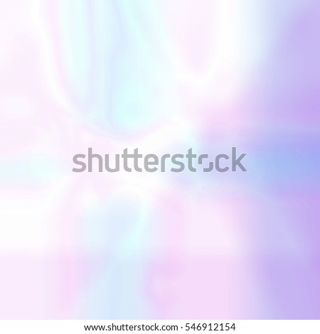 Abstract blurred holographic background in pastel light colors. Trendy wallpaper - hipster style.