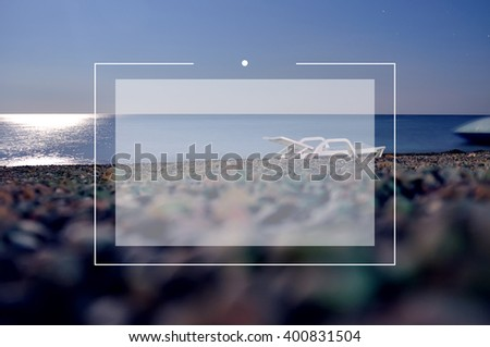 abstract blurred nature background with place for text