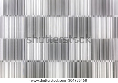 Abstract blurred of metal silver pattern for background.