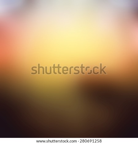 Abstract blurred orange sunset background for web design - stock photo