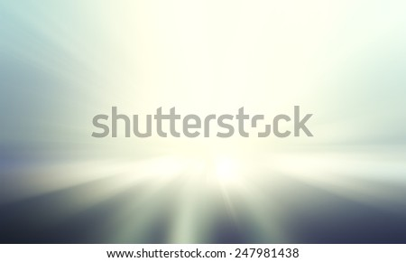 Abstract blurred ray light background. - stock photo