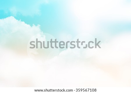 Abstract blurred soft background, sky textured background, Blurred nature abstract background, Vintage style - stock photo