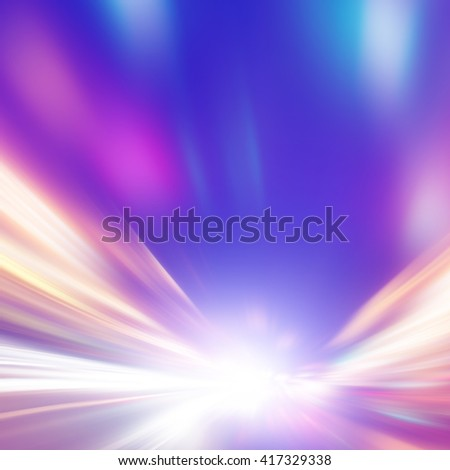Abstract blurred speed motion. - stock photo