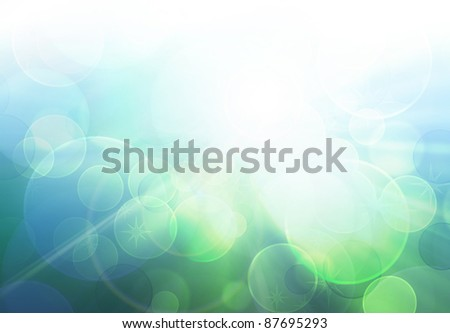 abstract blurred sunny sky light - summer background