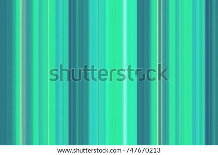 Abstract Blurred Texture, Color Combination. Stripes In Bright Blue,  Turquoise And Green Gamma