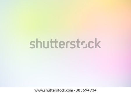 Abstract blurredl textured background: yellow blue green patterns. Blurred nature background. Sandy beach backdrop with turquoise water and bright sun light. Summer holidays concept. - stock photo