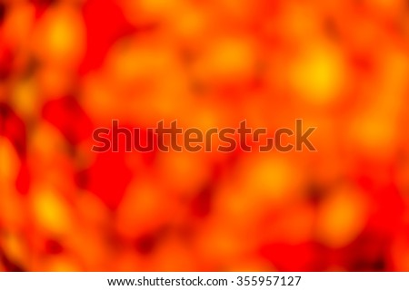Abstract Blurry Background with Bokeh Effect