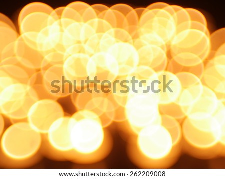 Abstract blurry bokeh background lights - stock photo