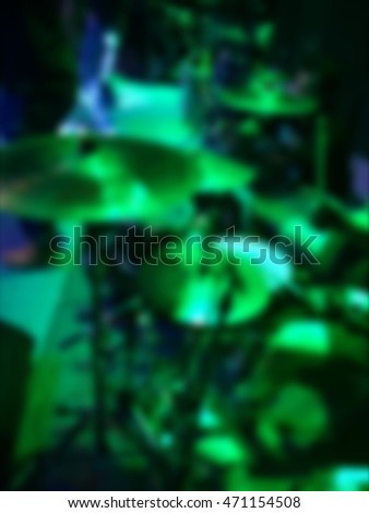 Abstract blurry light concert neon background