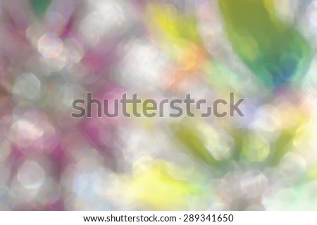 Abstract blurry multicolored  bright splash bokeh background. - stock photo