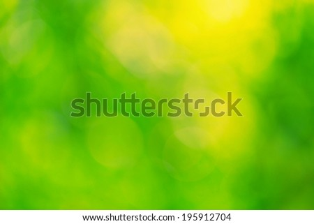 Abstract blurry natural football green background. - stock photo