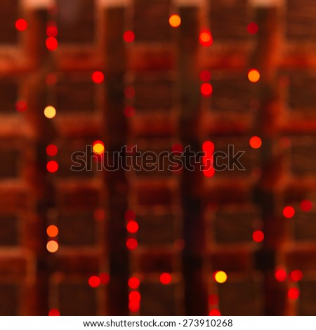 Abstract blurry pattern background with bokeh lights - stock photo