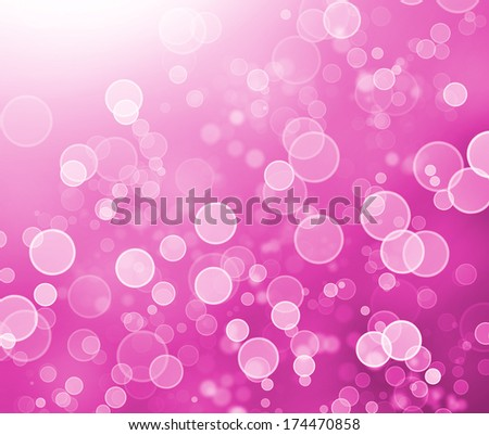 "abstract boke background - ""Radiant Orchid"" is the color of the Year 2014 - stock photo"