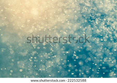 Abstract  bokeh background - stock photo