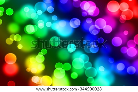 Abstract bokeh background.Soft defocused lights