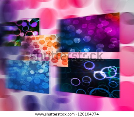 Abstract Bokeh Images - stock photo