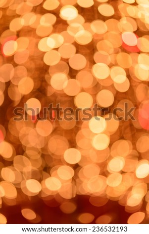 Abstract Bokeh light good use for background