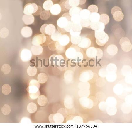 abstract bokeh lights. - stock photo
