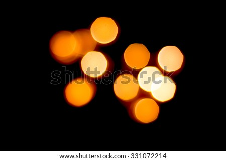 Abstract bokeh Romantic festive background