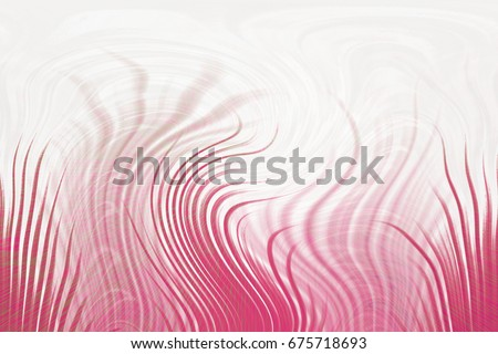 Abstract Bright Background With Fancy Red Lines The Energy Of Wave