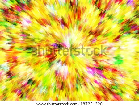 Abstract Bright Color Burst Backgrounds. Multicolored Pattern