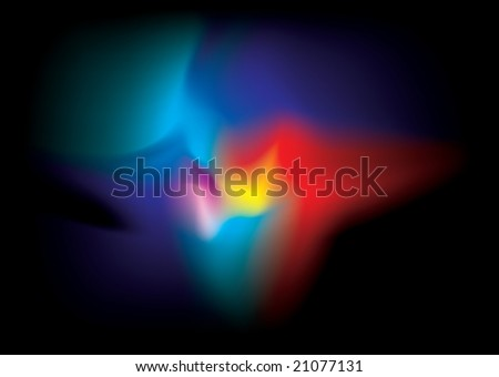 Abstract bright colorful image that would make an ideal background