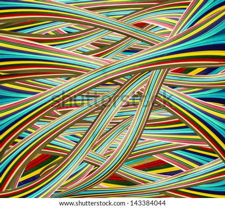 abstract bright colorful paper - stock photo