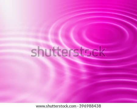 Abstract bright crimson background with round concentric ripples - stock photo