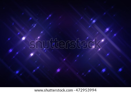 Abstract bright glitter blue background illustration technology.